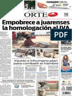 Periódico Norte edición del día 15 de julio de 2014