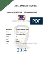 Monografia Derecho Financiero