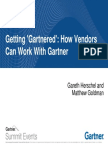 Getting Gartnered How Vendors Can Work With Gartner
