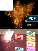 3rd Quarter 2014 Lesson 3 the Holy Spirit Powerpoint Presentation
