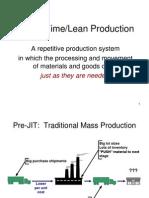 JIT Lean Production