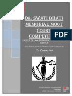 Dr. Swati Bhati Memorial Moot Court Competitio 2014