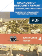 Diagnosis of Insecurity Report in Port Moresby, Papua New Guinea