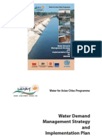 Water Demand Management Strategy and Implementation Plan for INDORE