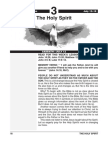 3rd Quarter 2014 Lesson 3 the Holy Spirit Easy Reading Edition