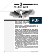 3rd Quarter 2014 Lesson 3 the Holy Spirit Easy Reading Edition