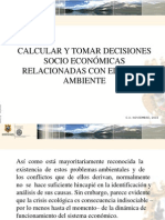 Calcular y Tomar Decisiones Socio Económicas Relacionadas Con El Medio Ambiente