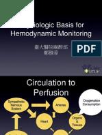 Physiologic Basis for Hemodynamic Monitoring
