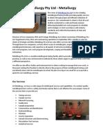 Metallurgy Pty Ltd