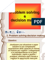 2. Problem Solving e Decision Making