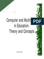 Multimedia dalam pendidikan