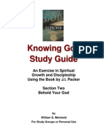 Knowing God Study Guide - Section Two