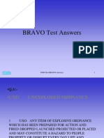 Test Final Test BRAVO Answers