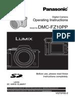 DMC FZ10 Manual