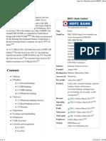 HDFC Bank - Wikipedia, The Free Encyclopedia_Part1