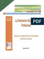 Estructura de Los Servicios de Orientación (Castellano)