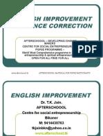23 JULY ENGLISH IMPROVEMENT