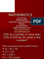 23 JUNE MATHEMATICS II