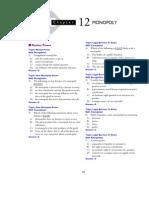 EC1301 Monoploy Practise Questions