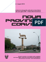 Noua ProVincia Corvina Nr. 67 Bis- August 2014