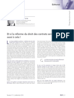 Edito de La RLDC Juillet-Août 2014