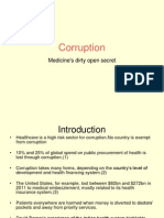 Corruption in medical practice
