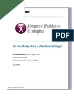 workforce strategic planning