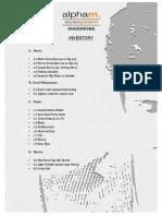 Alpham Stylesystem Inventory PDF