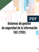 Sistemas de Gestión de Seguridad de La Información Iso 27001(2)