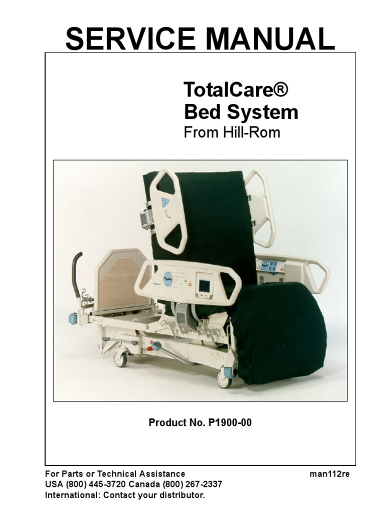 hill rom total care bed service manual 1 trademark electrical