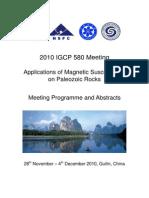 2010 IGCP 580-Guilin, China