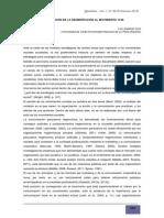 La aplicación de la segmentación al Movimiento 15-M