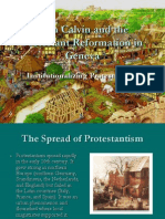 John Calvin and the Reformation in Geneva