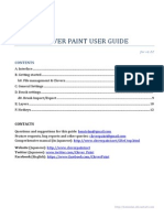 Clover Paint User Guide by Hemiolan-d64h036