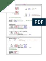 RCC Design Sheets
