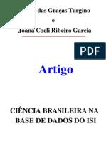 00284 - Ciência Brasileira Na Base de Dados Do ISI