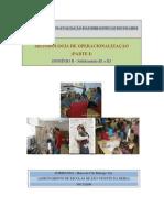 metodologia de operacionalização (parte1) do Modelo de auto-avaliação da BE