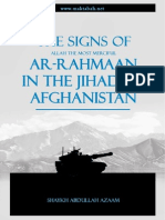 The Signs of Ar-Rahman in the Jihad of Afghanistan