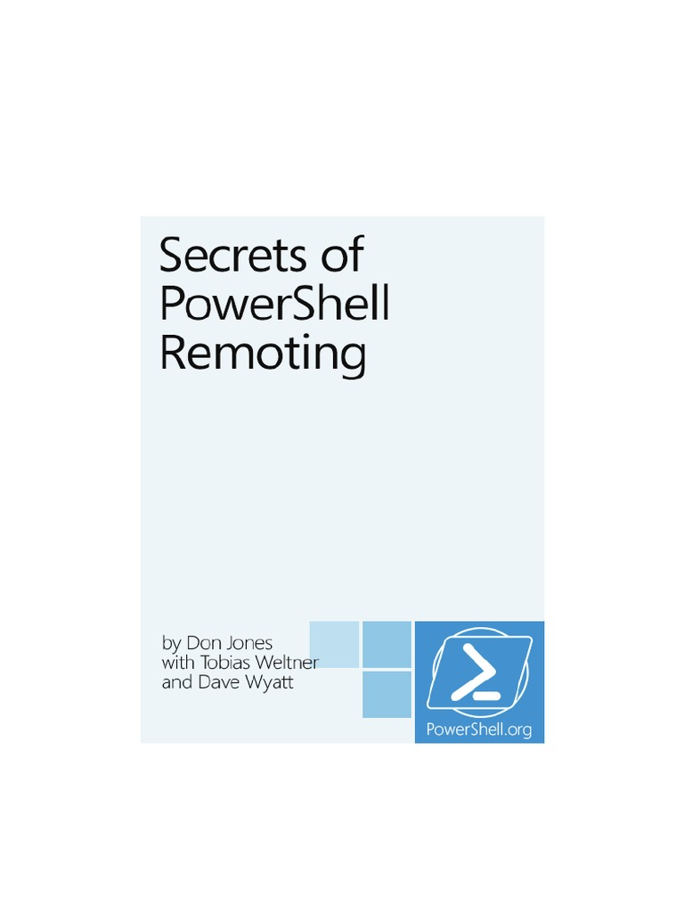 Secrets of PowerShell Remoting pdf | Public Key Certificate