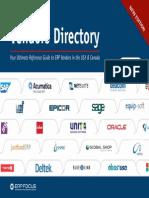 2014 Erp Vendor Directory v1 0