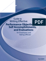 Guide Writing Effective Objectives