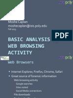 Basic Analysis of Web Browsing Activity