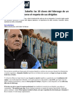 El management de Sabella