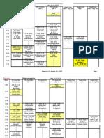 Hallenbelegungsplan VfL Buchloe ab 1.9.09/1.1.10