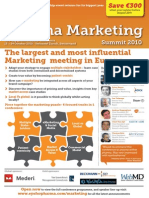 Pharma Marketing 2010