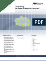 ABI Research Mobile Cloud Computing Report