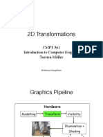 2D Transformations in Computer Graphics
