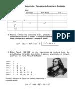 2 TRI - Prova de Periodo - 8 Ano - 2014 - Editada Como Exercicio