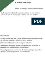 CA 2 - Conceitos de Ecologia