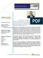 Abela Case Study - Microsoft Dynamics ERP implementation